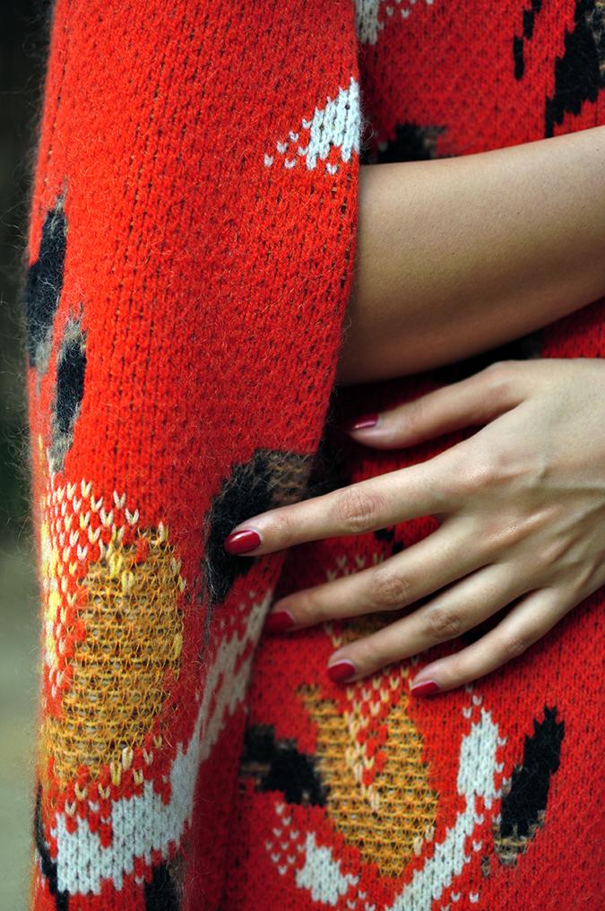 Missoni | Akanksha Redhu | woolen cape details