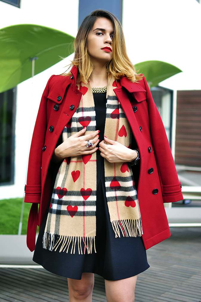 Burberry Festive | Akanksha Redhu | half front from below