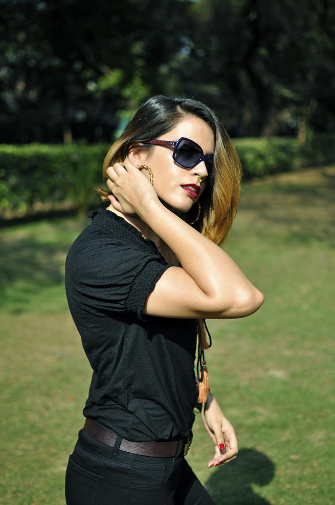 City Black | Sbuys | Akanksha Redhu | half side
