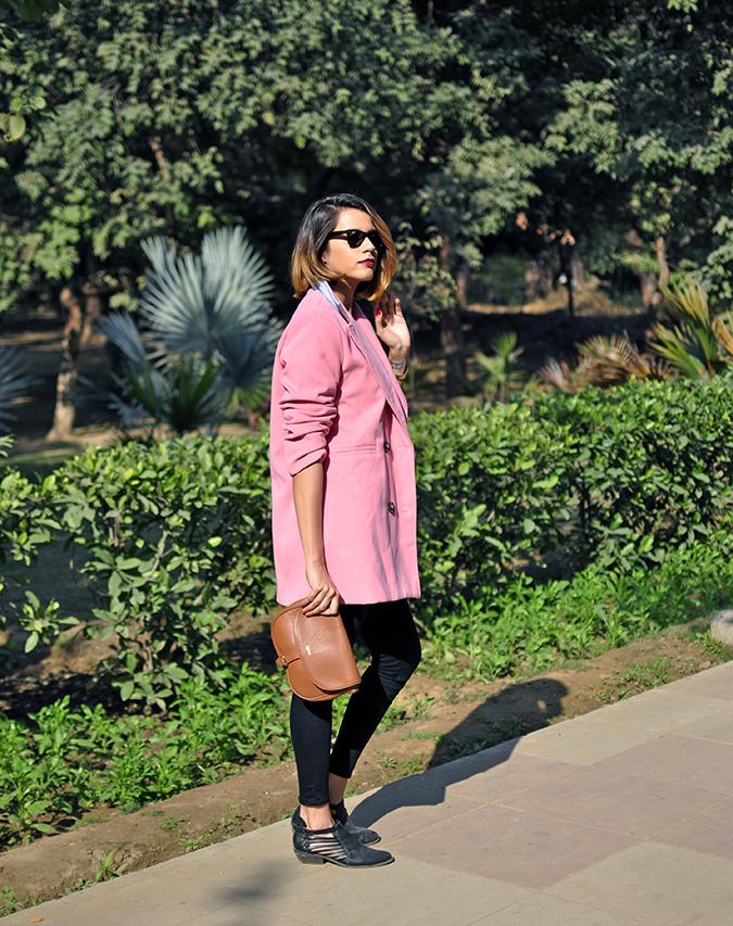 Fresh Pink | #ootd | Akanksha Redhu | full side