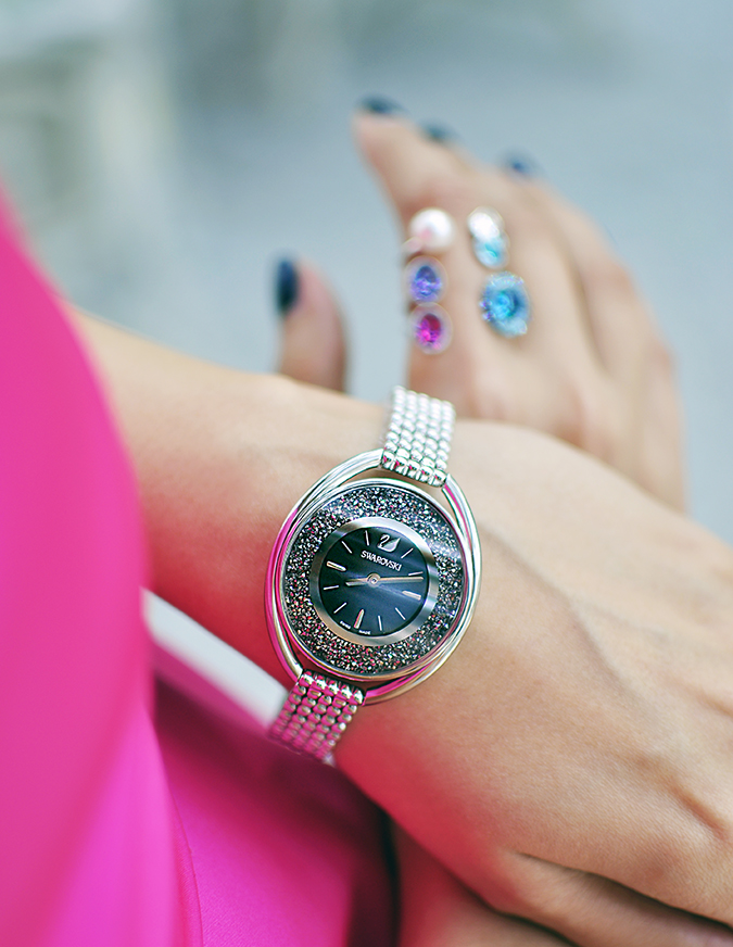 Sea of Sparkle - Swarovski | Akanksha Redhu | wearing watch