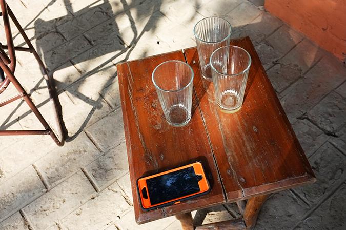 Akanksha Redhu | Travel India | glasses and cellphone