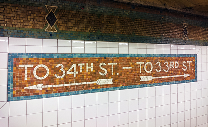 New York | Akanksha Redhu | #RedhuxNYC | subway tiles