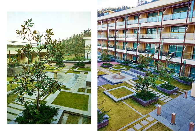 JW Marriott Mussoorie | Akanksha Redhu | Travel | mehendi area and rooms combo
