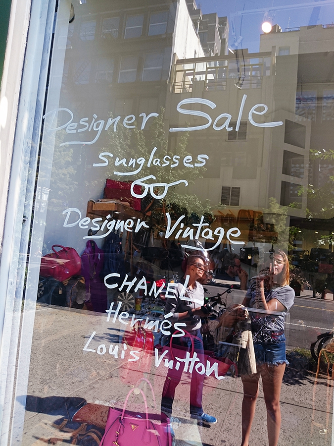 New York | Akanksha Redhu | #RedhuxNYC | vintage shop glass