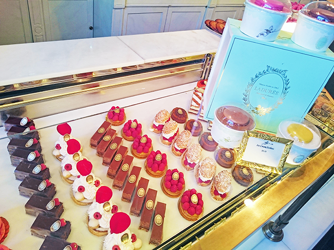 New York | Akanksha Redhu | #RedhuxNYC | Laduree desserts on display