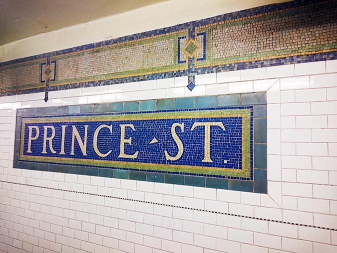 New York | Akanksha Redhu | #RedhuxNYC | Prince St subway