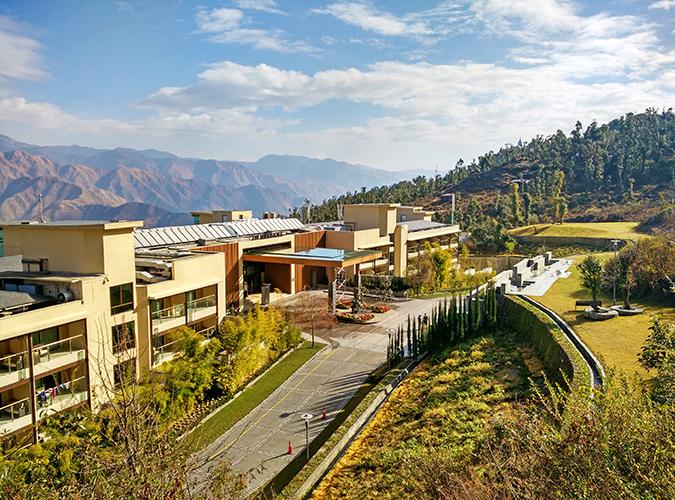 JW Marriott Mussoorie | Akanksha Redhu | Travel | front of hotel wide