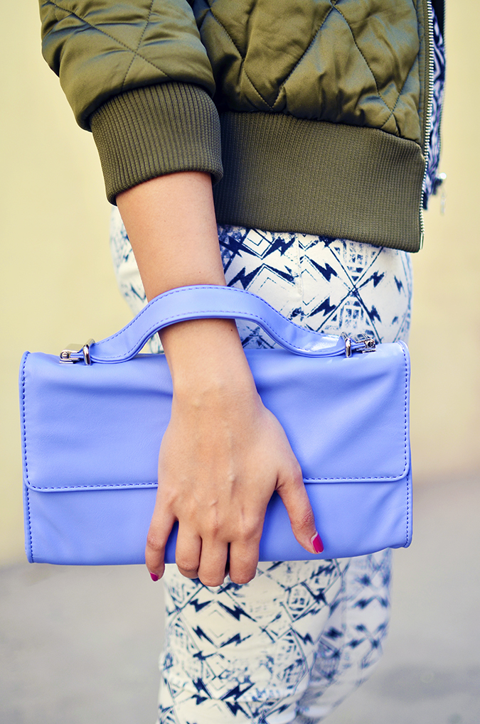Print Life | Vero Moda | Akanksha Redhu | half side lower with bag