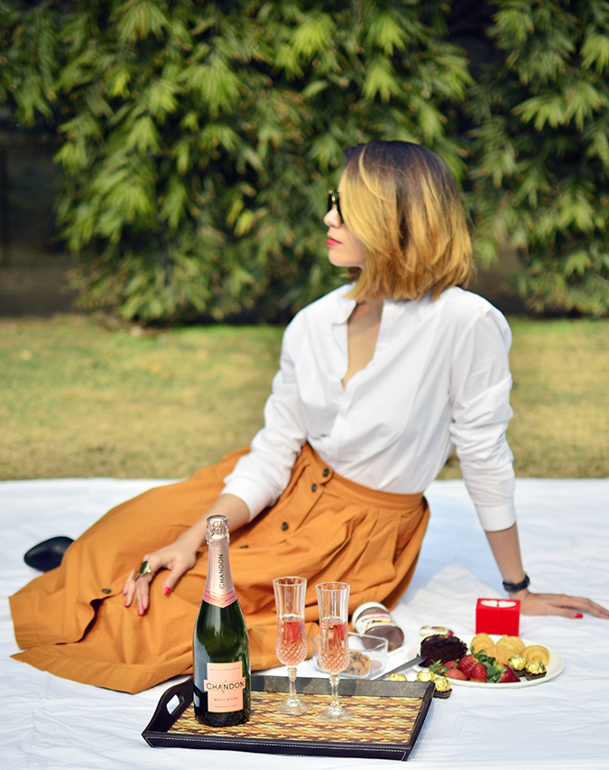 Valentine's Day Ready | Chandon India | Akanksha Redhu | sitting