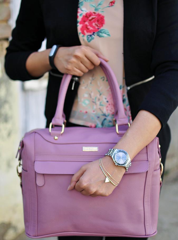 Formal Florals | Vero Moda | Akanksha Redhu | bag bracelet