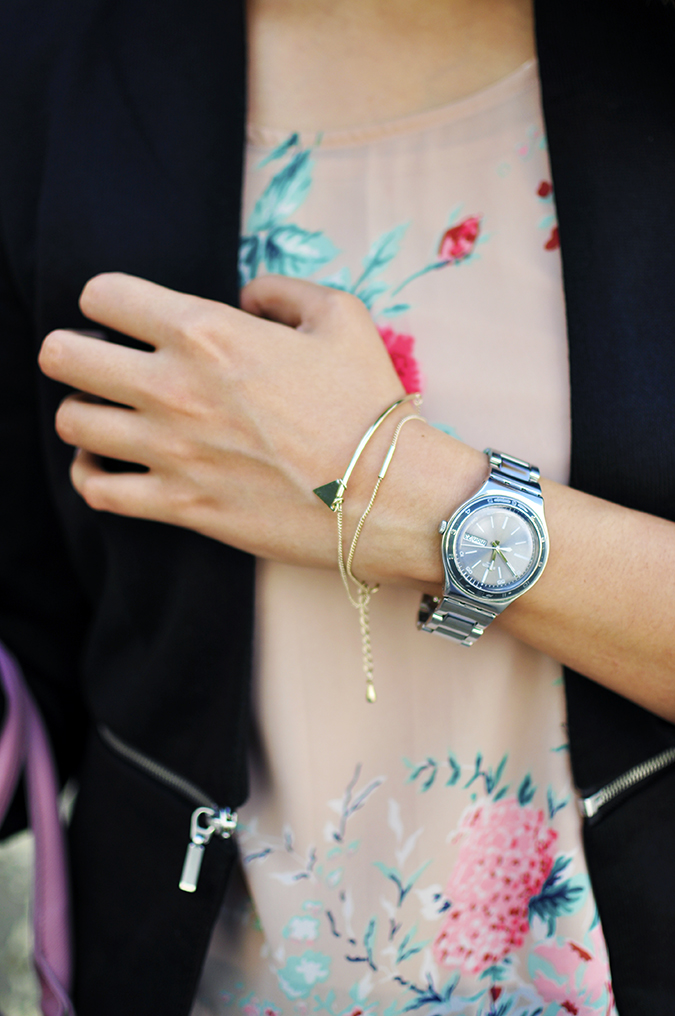 Formal Florals | Vero Moda | Akanksha Redhu | bracelet