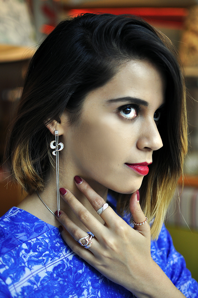 Melorra Jewelry | Akanksha Redhu | face earring