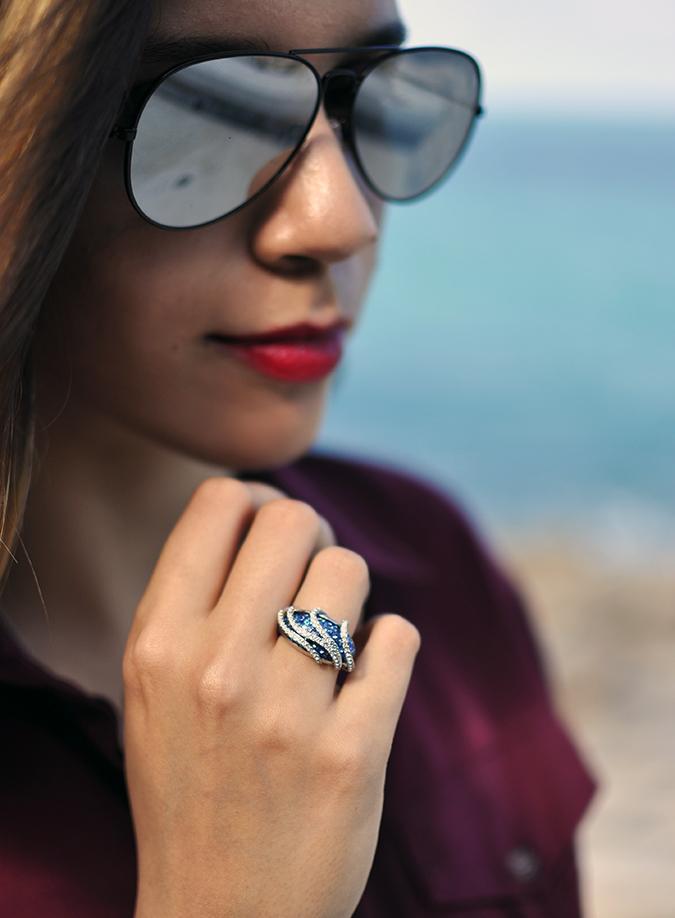 Lad Koh | Koh Samui | Thailand | Akanksha Redhu | ring sunglasses