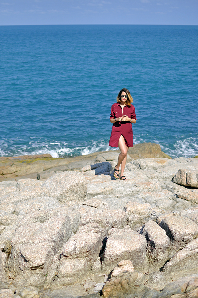 Lad Koh | Koh Samui | Thailand | Akanksha Redhu | far standing on rocks