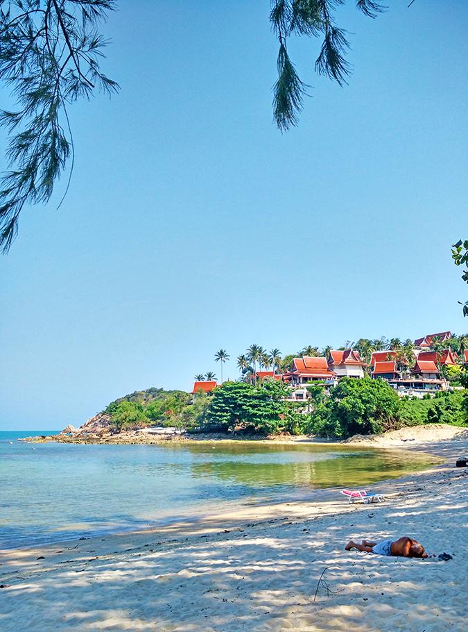 Choeng Mon Beach, Koh Samui | Akanksha Redhu | long phone