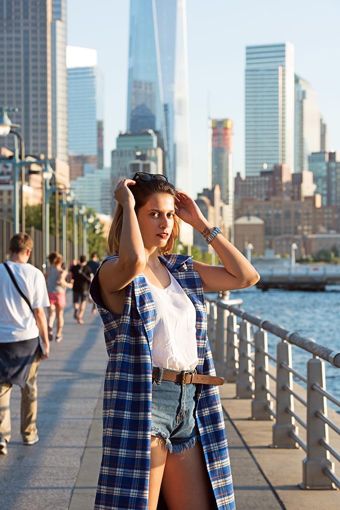 Hudson River Greenway | Akanksha Redhu | #RedhuxNYC | #eyesfornewyork | half front wtc back