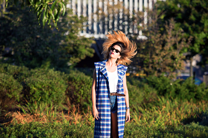 Hudson River Greenway | Akanksha Redhu | #RedhuxNYC | #eyesfornewyork | hair flying wide