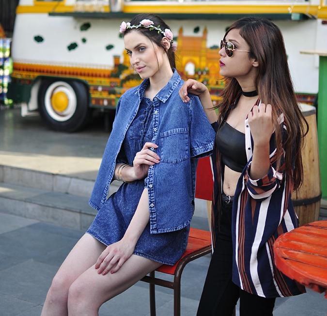 Oxolloxo | Akanksha Redhu | riya with model