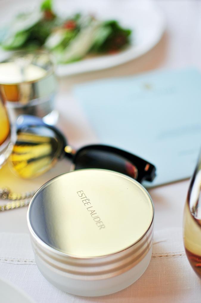 Estée Lauder | Akanksha Redhu | balm jar on table