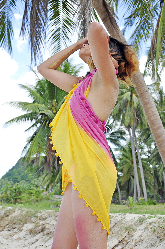 Shingora | Akanksha Redhu | side pink as body wrap
