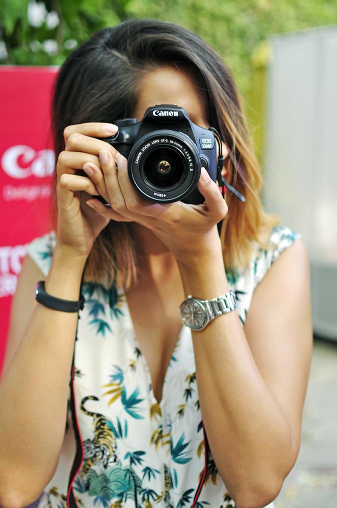 Canon EOS 1300D | Akanksha Redhu | #ReadyWithEOS1300D | clicking pic