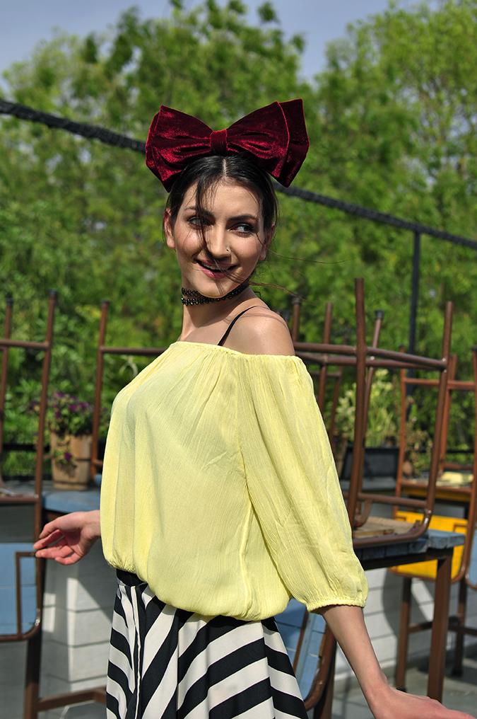 Oxolloxo | Akanksha Redhu | half front eva skirt