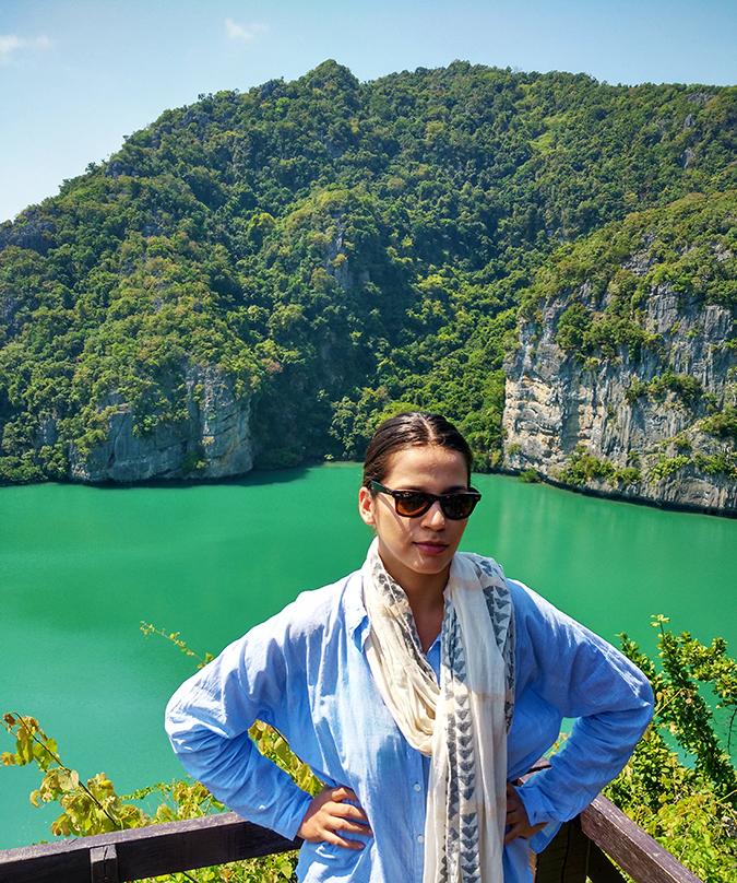 Ang Thong National Marine Park | Akanksha Redhu | me at emerald lake