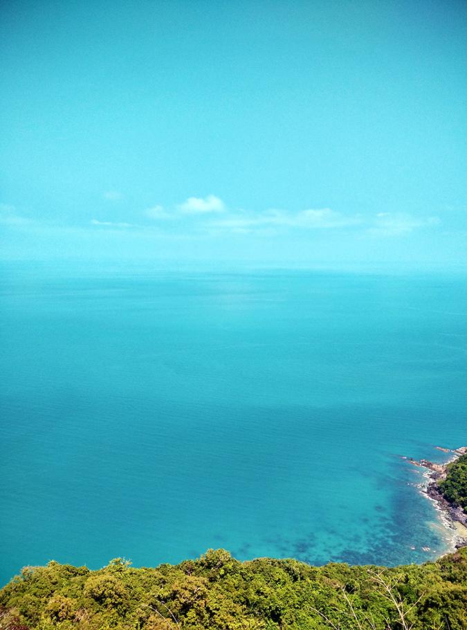 Ang Thong National Marine Park | Akanksha Redhu | horizon merging with ocean