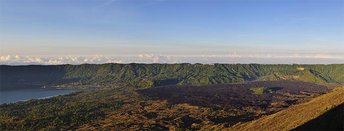 Mount Batur Sunrise Trek | Bali | Akanksha Redhu | pano