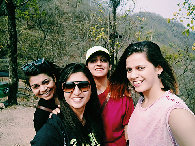 Rishikesh | Akanksha Redhu | 4 girls selfie