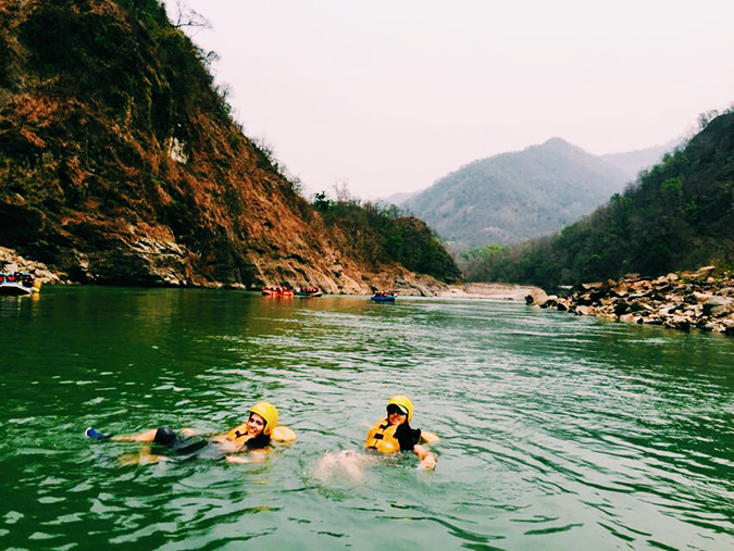 Rishikesh | Akanksha Redhu | in water