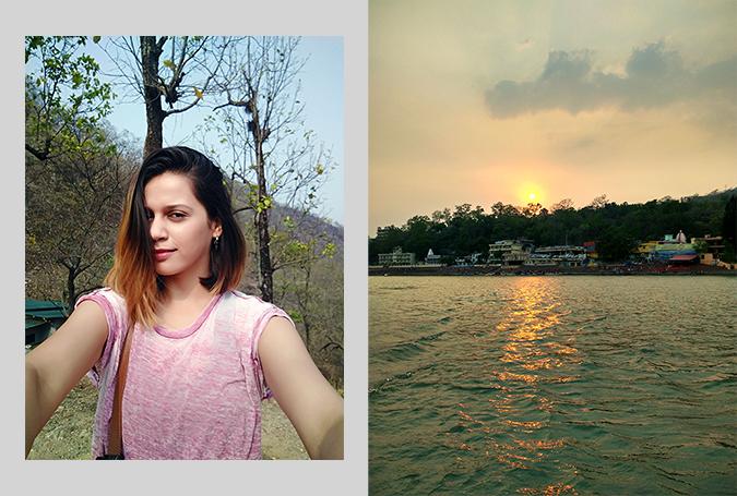 Rishikesh | Akanksha Redhu | sunset selfie combo