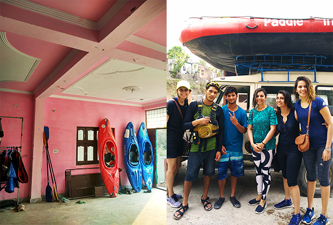 Rishikesh | Akanksha Redhu | paddle india group pic combo