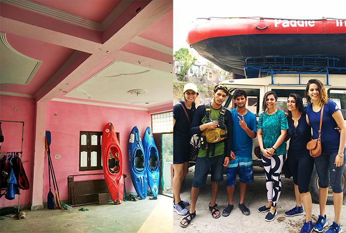 Rishikesh | Akanksha Redhu | paddle india group pic combo