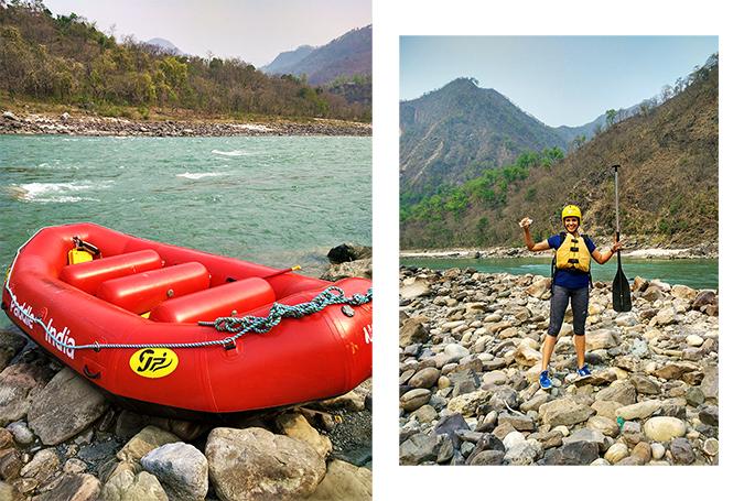 Rishikesh | Akanksha Redhu | raft combo