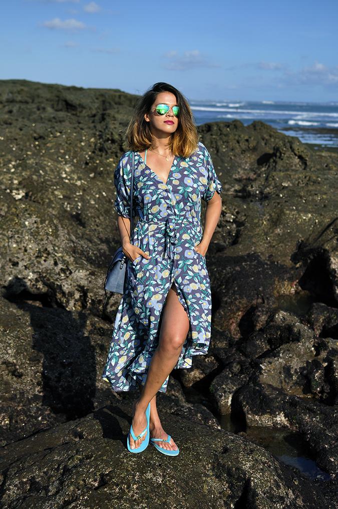 Bali | Akanksha Redhu | full front legs crossed rock at back