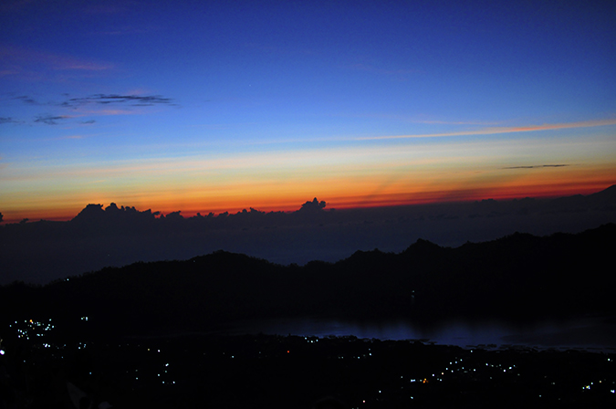 Mount Batur Sunrise Trek | Bali | Akanksha Redhu | wide first light
