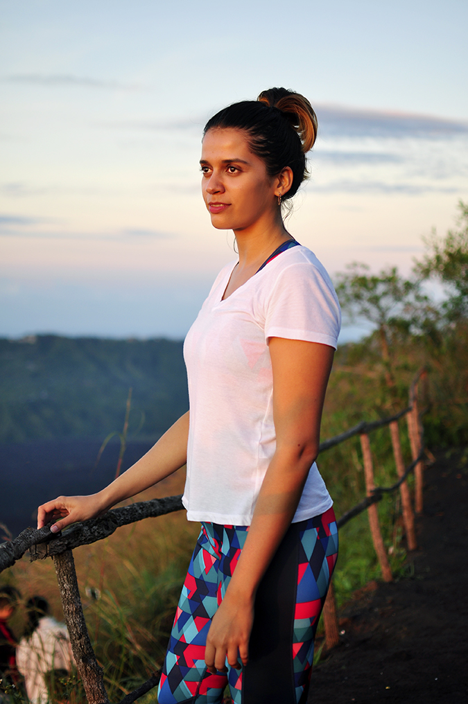Mount Batur Sunrise Trek | Bali | Akanksha Redhu | long me in golden light
