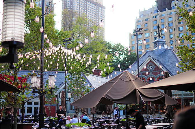 Tavern on the Green - Central Park | NYC | Akanksha Redhu | lights wide