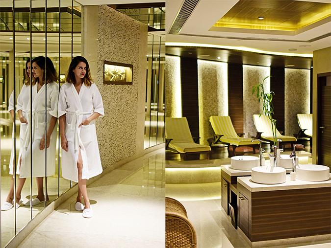 The Lalit Chandigarh | Akanksha Redhu | combo spa full front robe