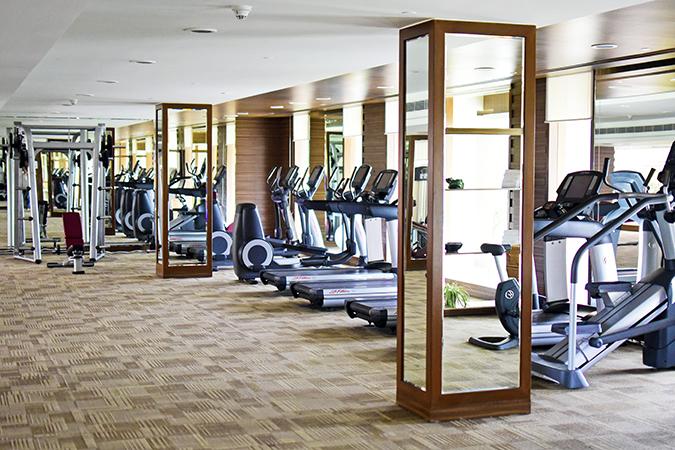 The Lalit Chandigarh | Akanksha Redhu | gym wide