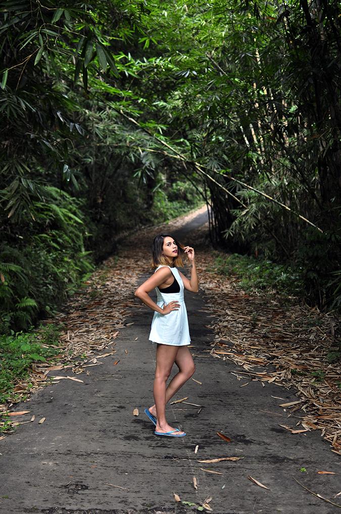 Tegalalang Rice Terraces - Ubud | Bali | Akanksha Redhu | full side far road