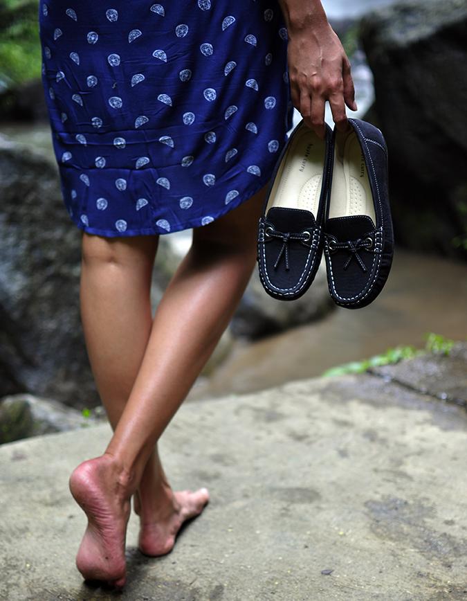 Nungnung Waterfall   Bali   Akanksha Redhu   shoes