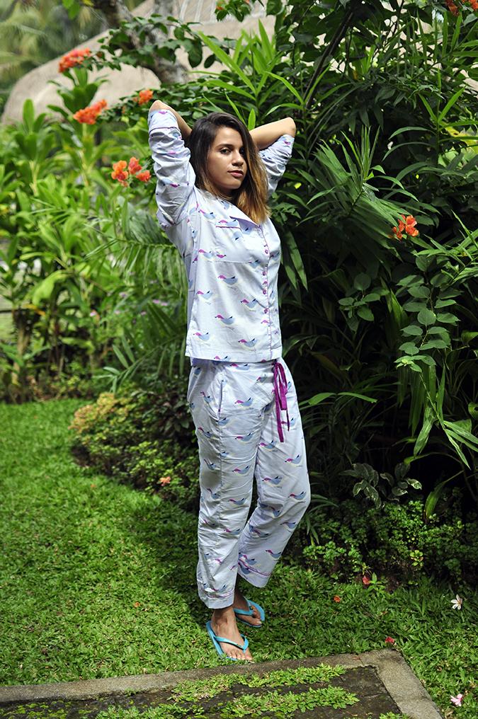 Bali | Akanksha Redhu | full front arms up garden