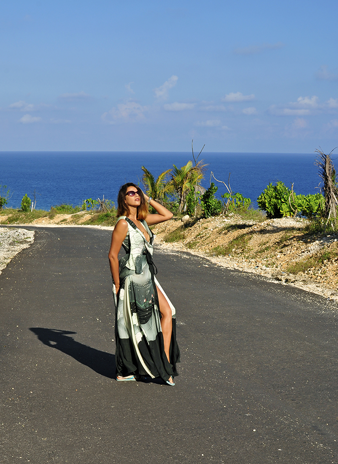 Pantai Melasti   Bali   Akanksha Redhu   full side road far