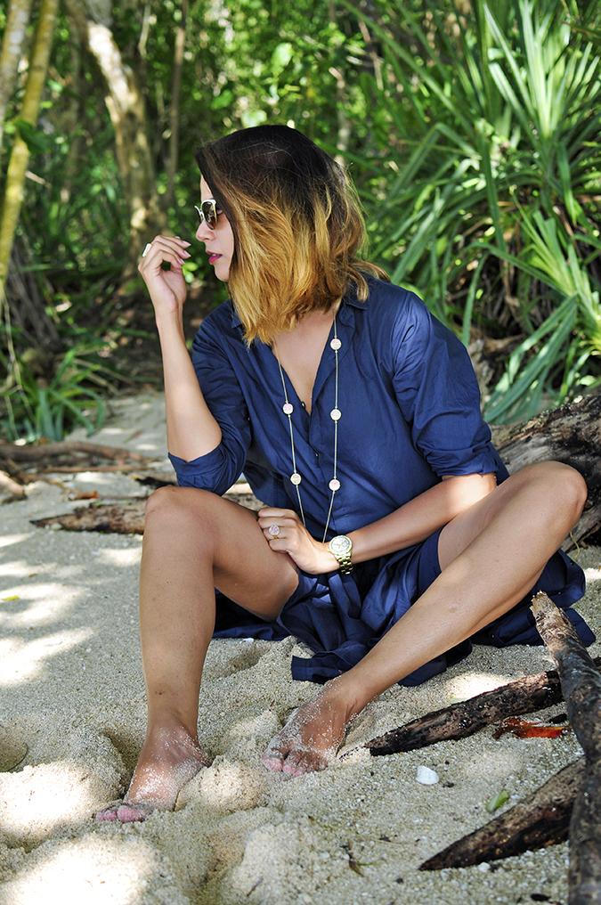 Padang Padang Beach | Bali | Akanksha Redhu | sitting legs apart