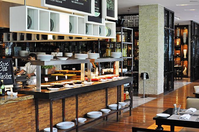 JW Marriott |Chef Vivek Bhatt | Akanksha Redhu | italian section wide