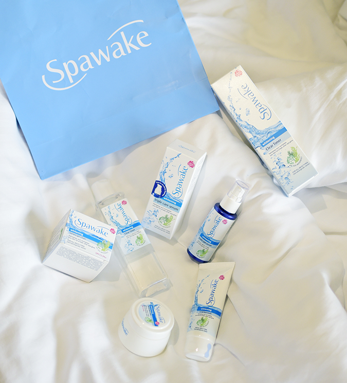 Spawake Whitening Regime | Akanksha Redhu | only products in bed