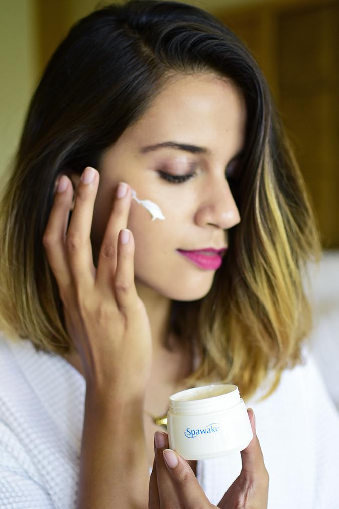 Spawake Whitening Regime | Akanksha Redhu | applying cream long